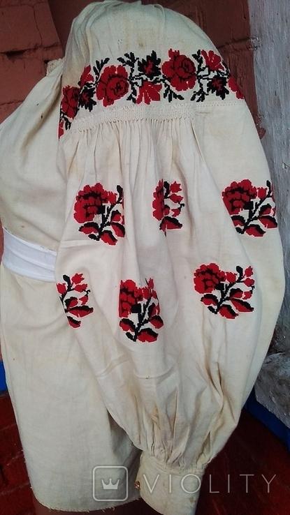 Старинная вышиванка (короткая), фото №4