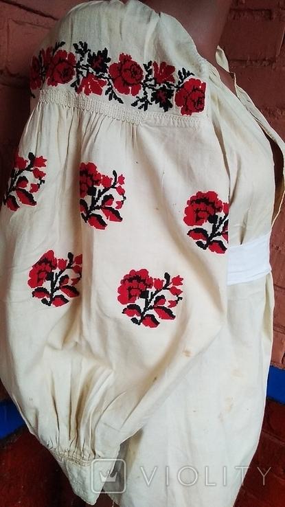 Старинная вышиванка (короткая), фото №2