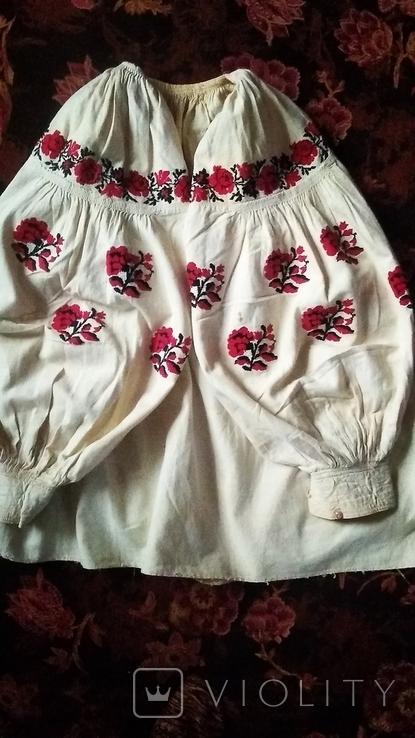 Старинная вышиванка (короткая), фото №5