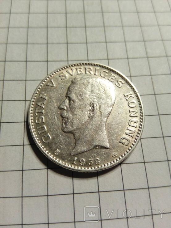 1 крона1938 Швеції, фото №4