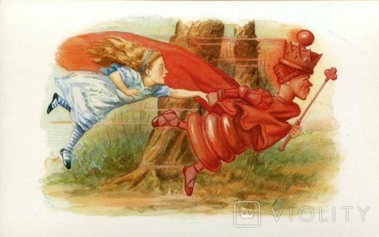 Открытки Алиса в стране чудес сказки детские, фото №4