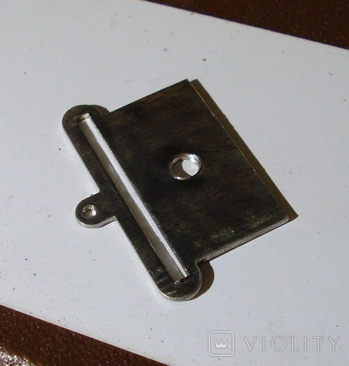 Копия пластины на колодку(серебро). Штамп., фото №3