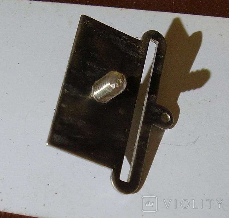 Копия пластины на колодку(серебро). Штамп., фото №4