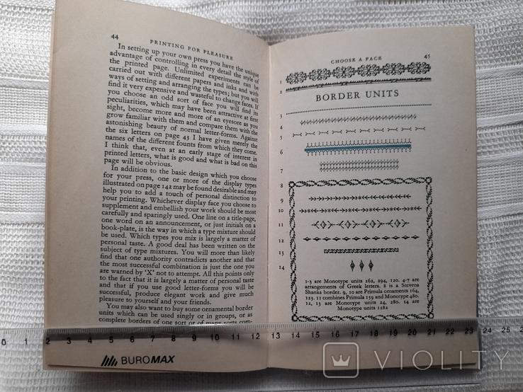 John Ryder. Printing for pleasure. London 1957.Печать для удовольствия., фото №8