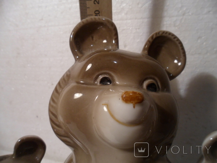 Олимпийские мишки. 3 шт., фото №6