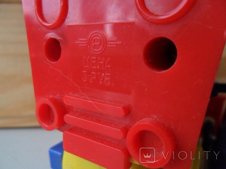 Заводной механический паровозик., фото №7
