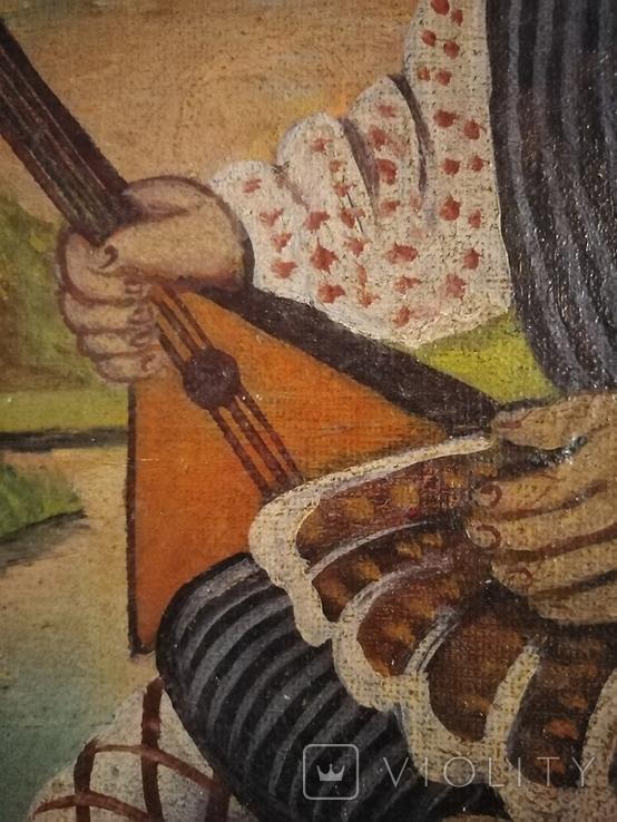 Картина змальована з листівки В. Гулак. копия, фото №10