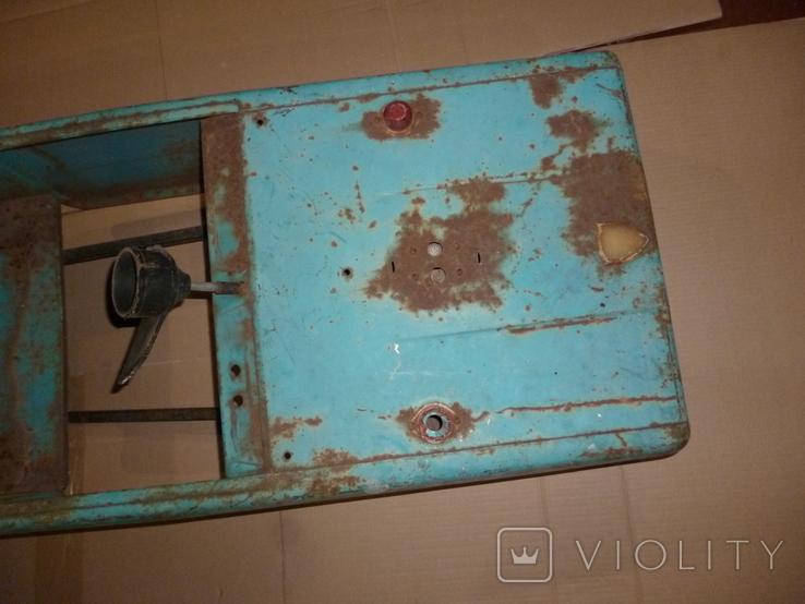 Педальная машина шасси СССР на педалях детский автомобиль, фото №3