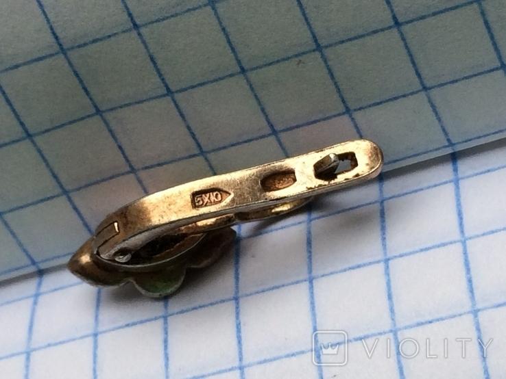 Серебряная серьга, фото №6