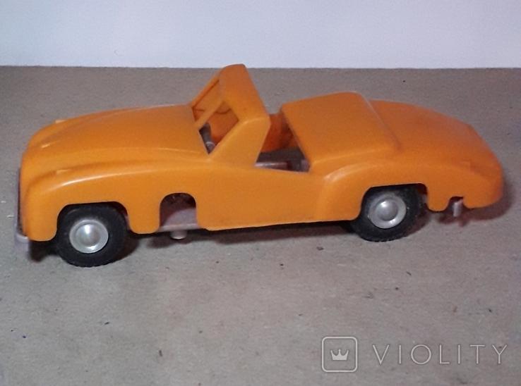 Машинка заводная 60-70-е Кабриолет СССР, фото №3