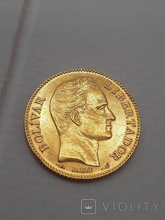 20 боливар 1905. Венесуэлла., фото №2