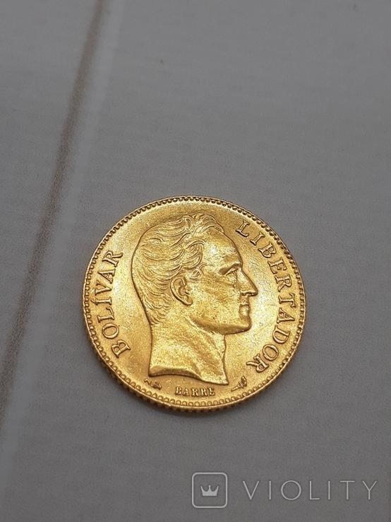 20 боливар 1905. Венесуэлла., фото №5
