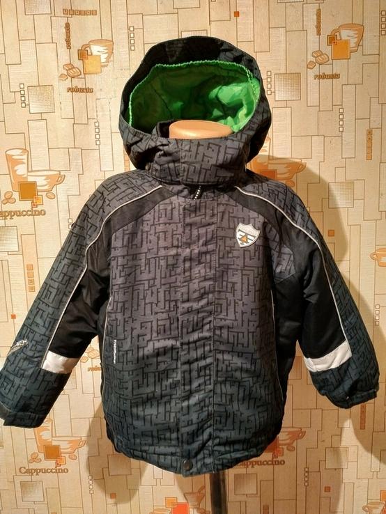 Куртка спортивная. Термокуртка ICEPEAK на рост 98 см(2-3 года)