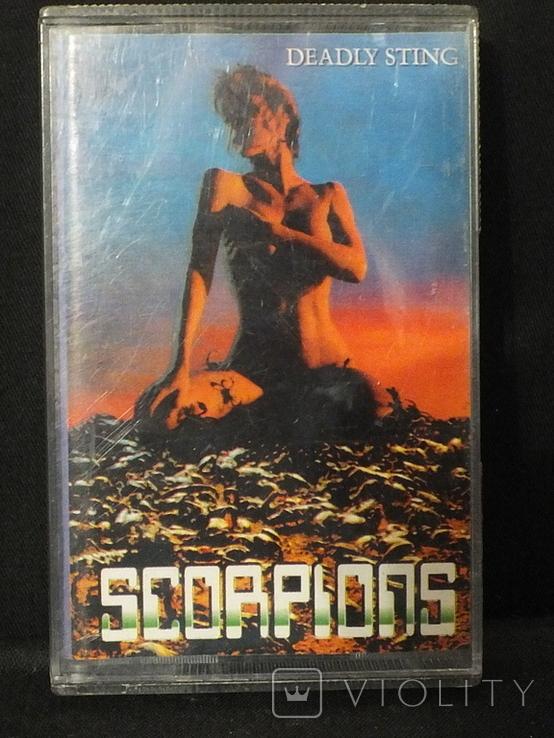 """Подборка аудиокассет с группой """"Scorpions"""", фото №8"""
