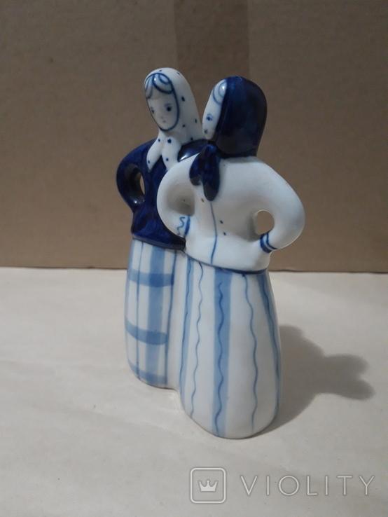Две подружки.Гжель, фото №3