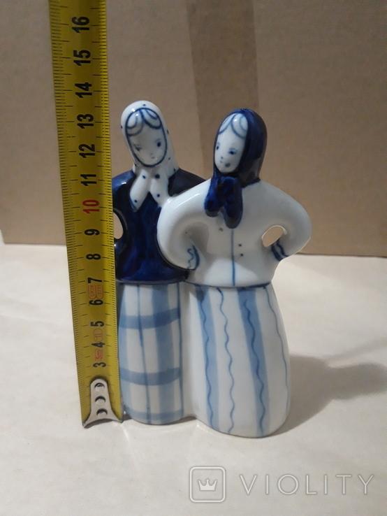 Две подружки.Гжель, фото №8