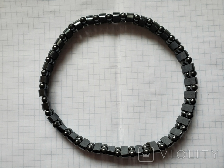 Бусы или браслет,гематит., фото №3