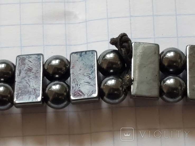 Бусы или браслет,гематит., фото №10