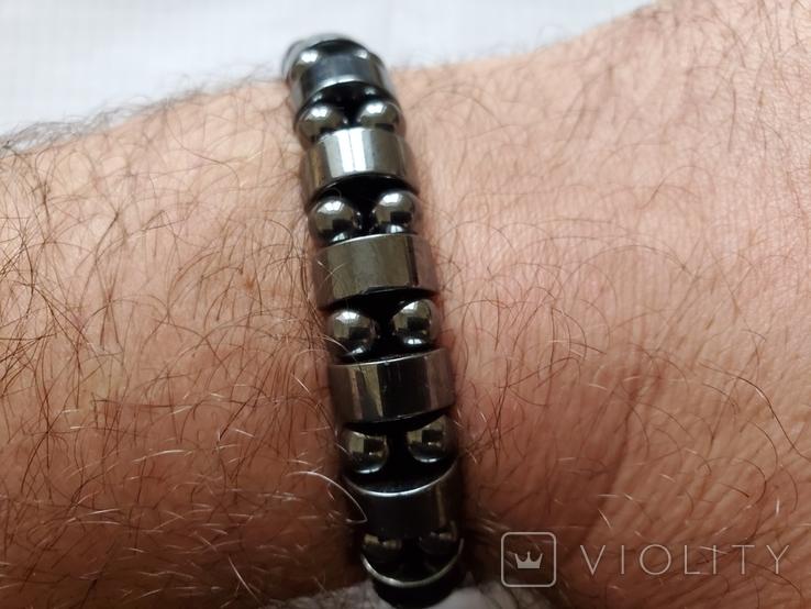 Бусы или браслет,гематит., фото №11