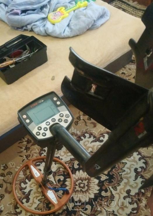 Металошукач e-Trac з катушкою coiltek 15 та пінпоінтером марс, фото №3