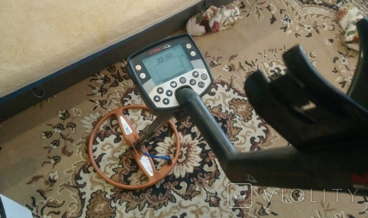 Металошукач e-Trac з катушкою coiltek 15 та пінпоінтером марс, фото №6