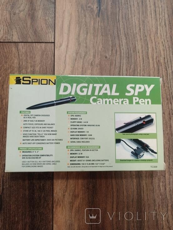 Ручка винтажная DIGITAL SPY, фото №6