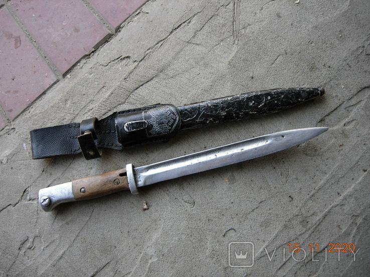 Копия штык-ножа с немецкого карабина к-98., фото №3