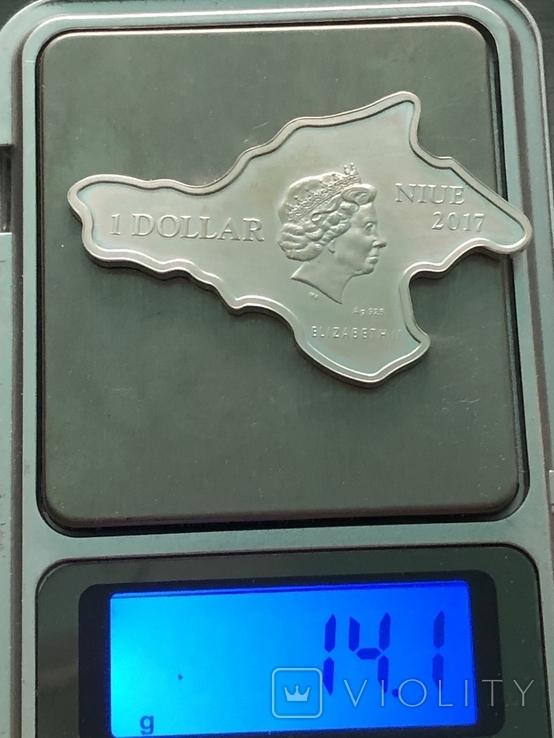 Доллар Ниуэ,  Крым, фото №5