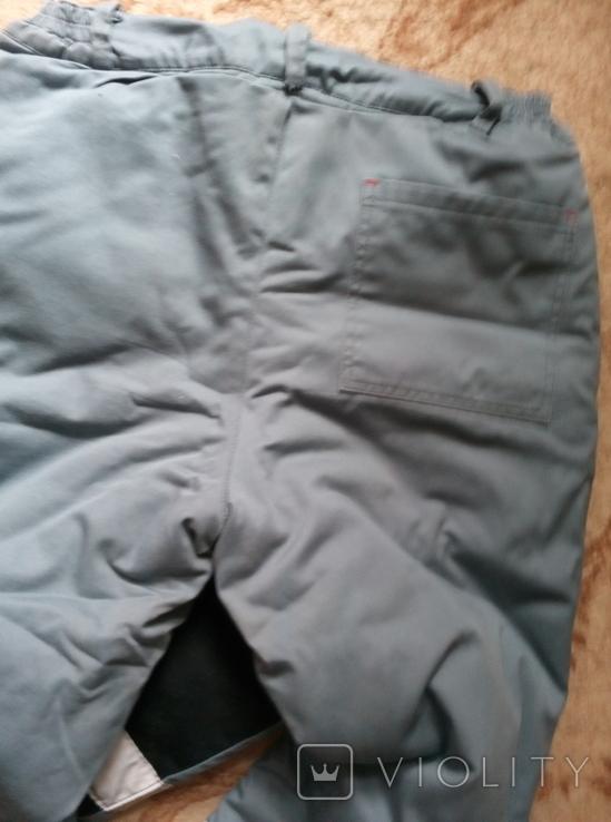 Рабочий бушлат и теплые штаны., фото №10