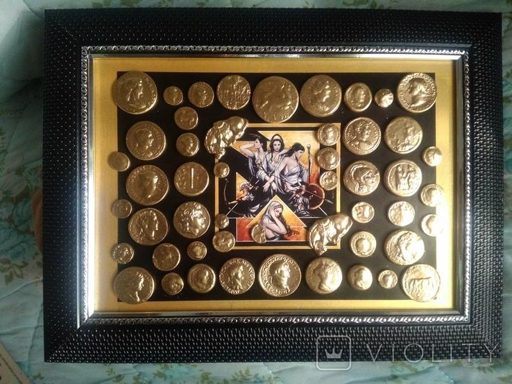 Коллекция копий золотых античных монет, фото №3