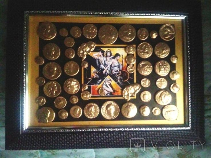 Коллекция копий золотых античных монет, фото №5