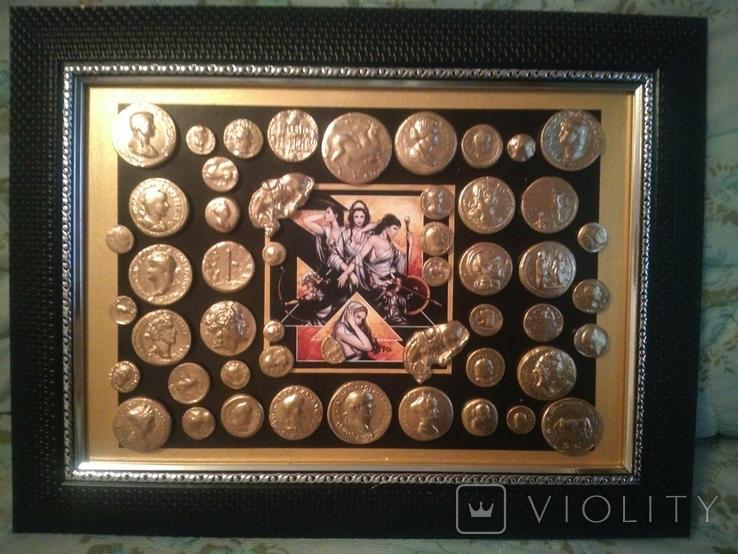 Коллекция копий золотых античных монет, фото №6