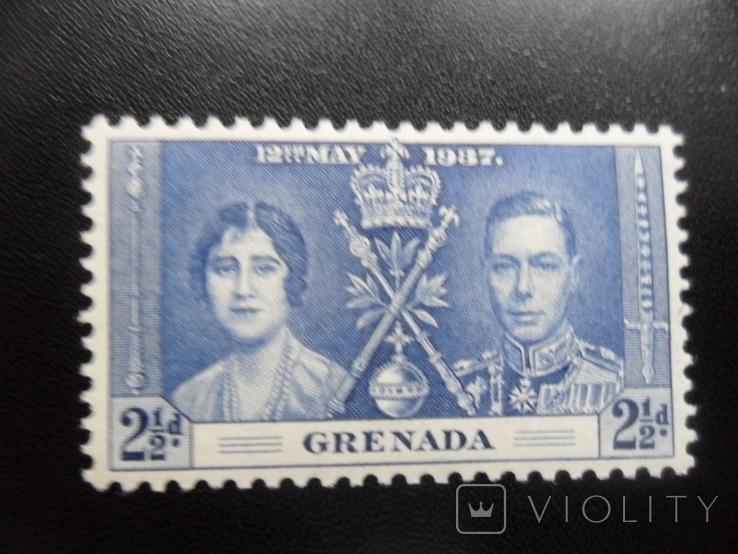Британские колонии. Гренада. 1937 г. МН, фото №2