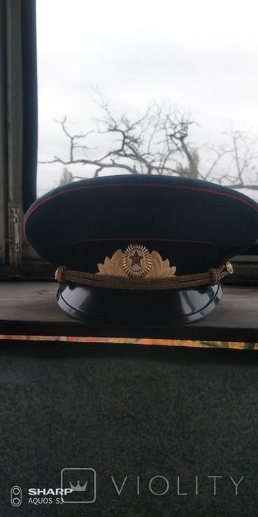 Фуражка офицерская парадная., фото №2