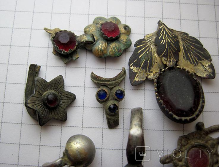 Фрагменты старинных украшений, фото №3