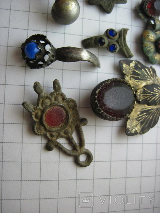 Фрагменты старинных украшений, фото №4