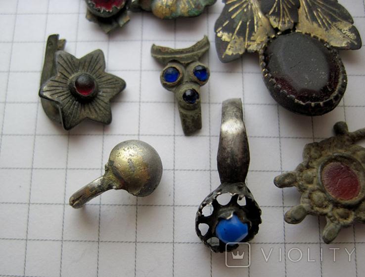 Фрагменты старинных украшений, фото №6