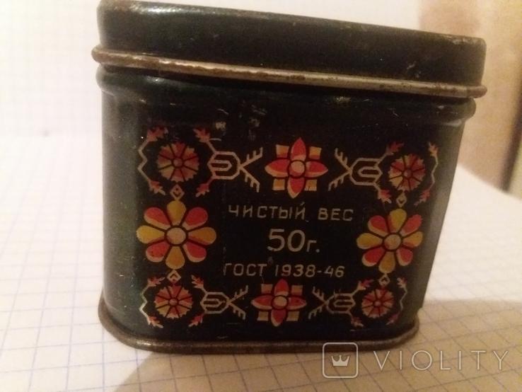 Коробочка жестяная из под чая. СССР, фото №5