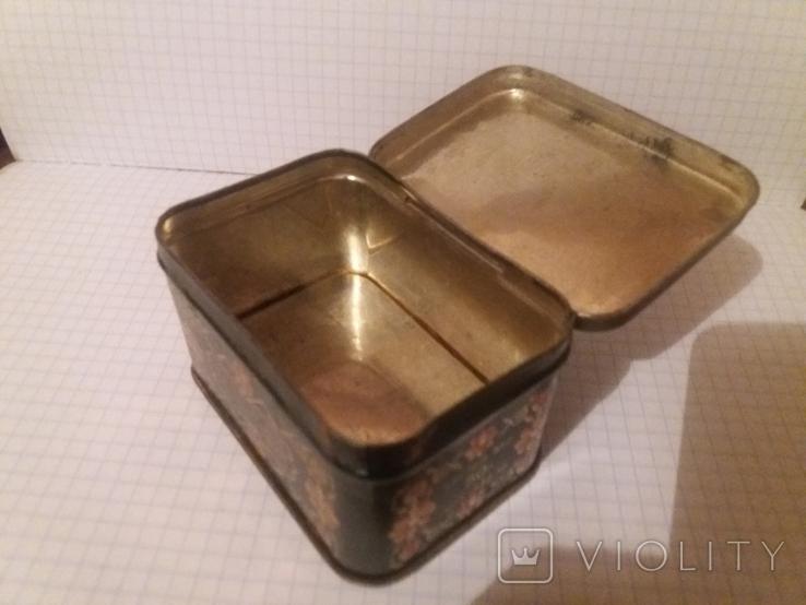 Коробочка жестяная из под чая. СССР, фото №8