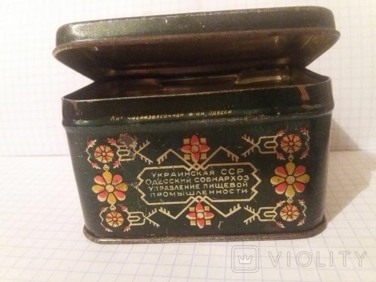 Коробочка жестяная из под чая. СССР, фото №10