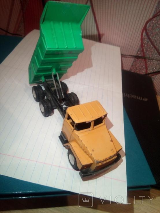 Машынка грузовой Краз. СССР, фото №6