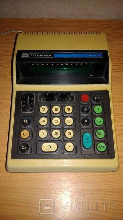 Калькулятор Toshiba BC-1217A., фото №2