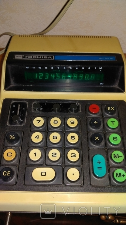 Калькулятор Toshiba BC-1217A., фото №3