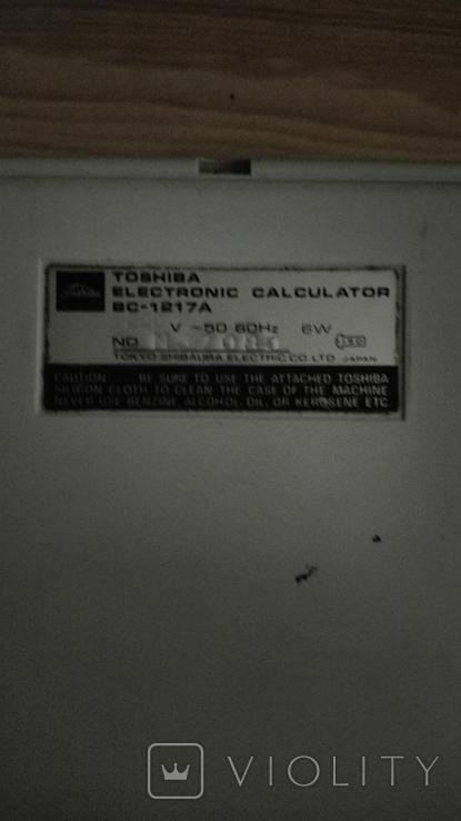 Калькулятор Toshiba BC-1217A., фото №4