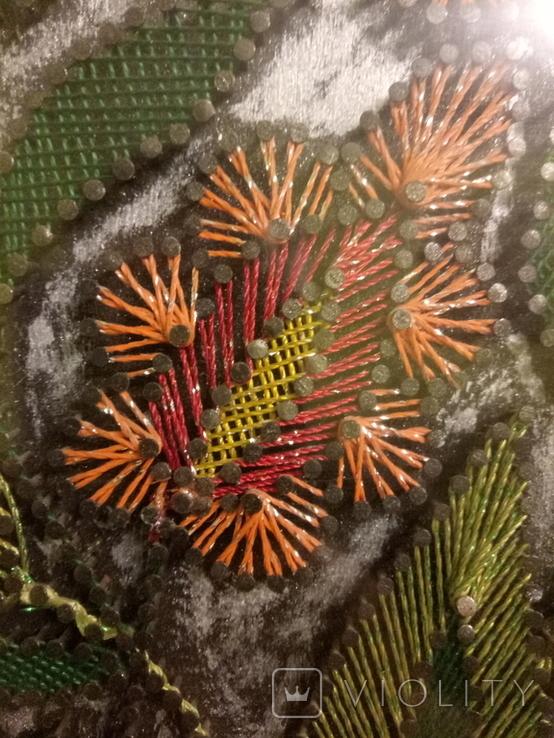 Картина из гвоздей, фото №6