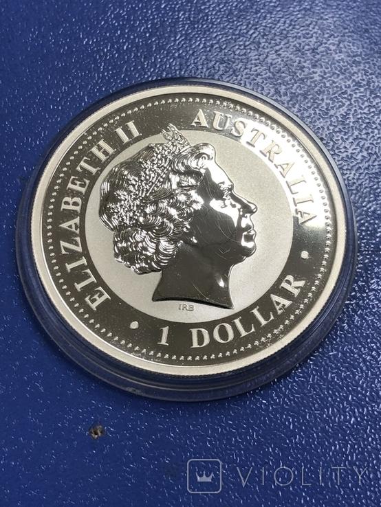 1 доллар 2007 Австралия,год Свиньи, фото №5