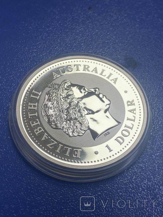 1 доллар 2007 Австралия,год Свиньи, фото №6