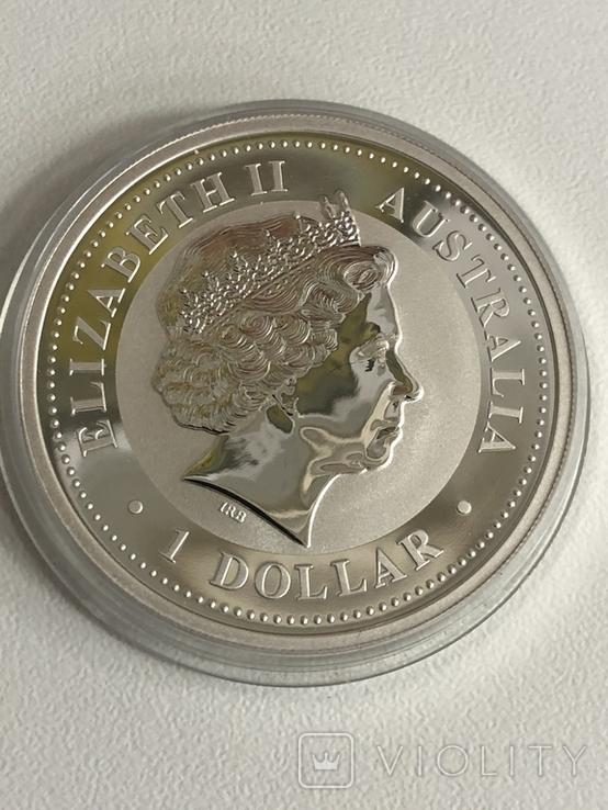 1 доллар 2007 Австралия,год Свиньи, фото №9