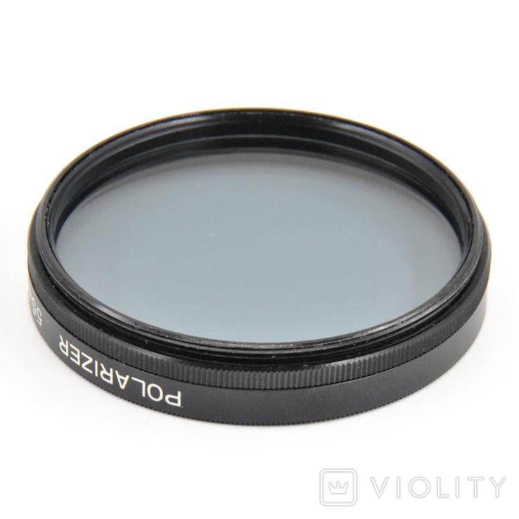 Світлофільтр Polarizer 55mm, фото №4