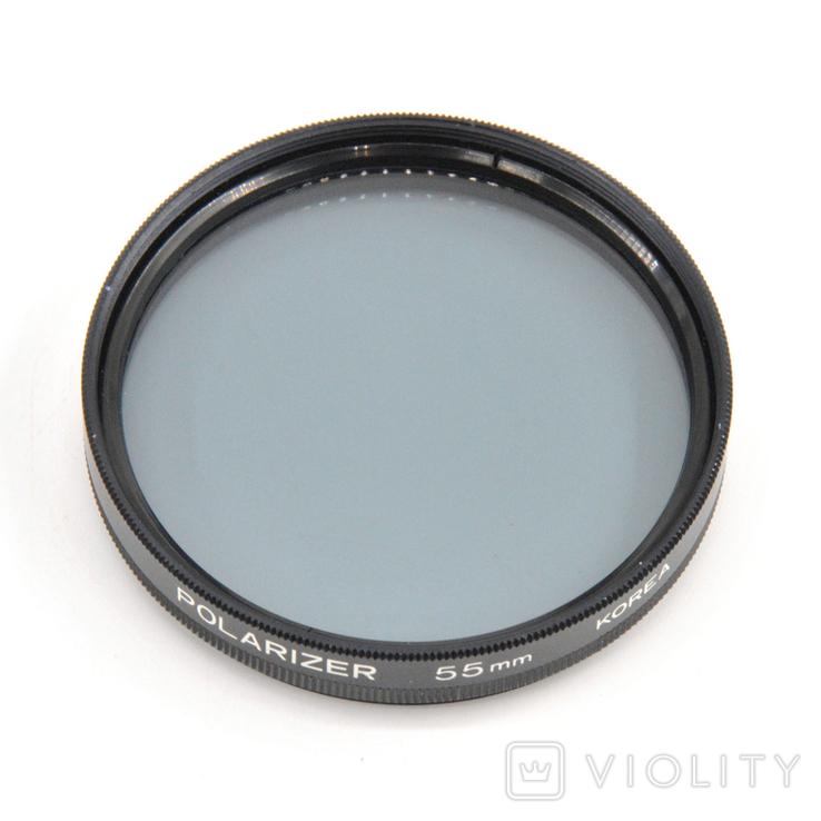 Світлофільтр Polarizer 55mm, фото №5